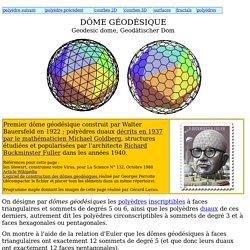 Dome géodésique