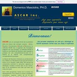 Domenico Masciotra, consultant en éducatin chez ASCAR inc. Montréal,