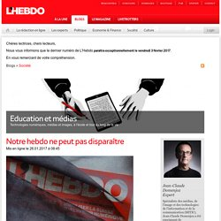 Domenjoz, Jean-Claude, Blog société