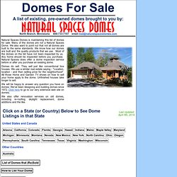Domes For Sale