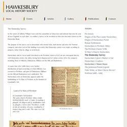 Hawkesbury Local History Society