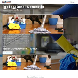 Domestic cleaning, Swindon