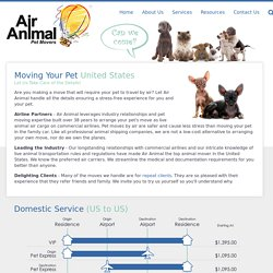 Domestic Pet Movers - Air Animal