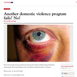Another domestic violence program fails? No!