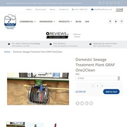 Domestic Sewage Treatment Plant GRAF One2Clean