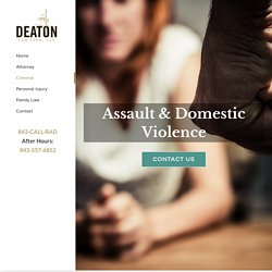 SEX CRIMES DEFENSE North Charleston - Deaton Law Firm