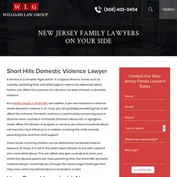 Short Hills Domestic Violence Lawyer