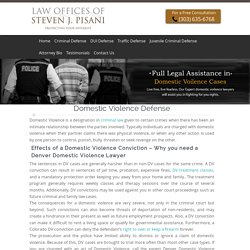 Domestic Violence Lawyer Denver, Gilpin, Brighton, Jefferson, Colorado