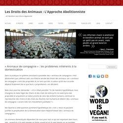 « Animaux de compagnie » : les problèmes inhérents à la domestication