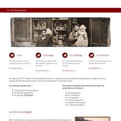 La vie domestique –La nourriture - 1914 Familles de Quintenas