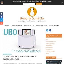Le robot domestique au service des personnes âgées - Robot à Domicile