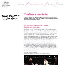 Théâtre Sorano : captations de spectacles récents