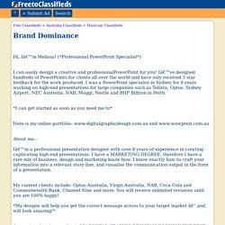 Brand Dominance