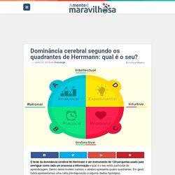 Dominância cerebral segundo os quadrantes de Herrmann: qual é o seu?