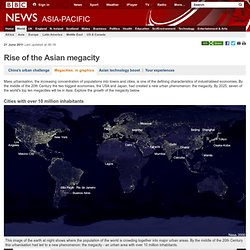 Asia to dominate 21st century megacities