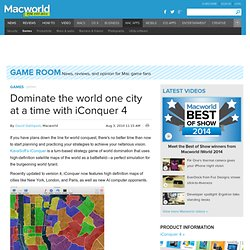 Dominate the world one city at a time with iConquer 4 | Games | Game Room