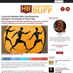 5 Ancient Athletes Who Dominated the Olympics Thousands of Years Ago