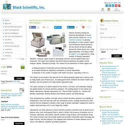 North America Dominates Global Clinical Analyzer Market