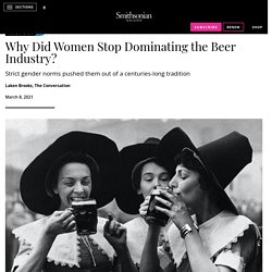 Women Dominated Beer Brewing Until They Were Accused of Being Witches click2x