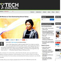 50 Women in Tech Dominating Silicon Valley