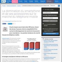La domination du smartphone et de ses accessoires sur le marché du téléphone mobile