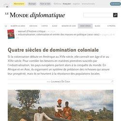 Quatre siècles de domination coloniale, par Laurence De Cock (Le Monde diplomatique, septembre 2014)