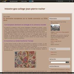 La domination européenne sur le monde commence au XVIIIe siècle - Le blog de histoire-geo-college-jean-pierre-rocher