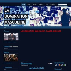 La domination masculine - Bienvenue