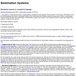 Domination Systems