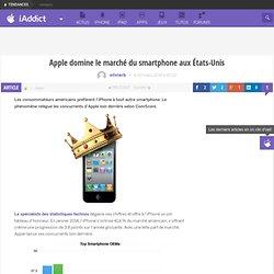 Apple domine le marché du smartphone aux États-Unis