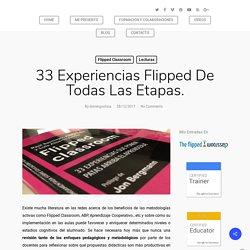 Domingo Chica Pardo - 33 experiencias flipped en todas las etapas