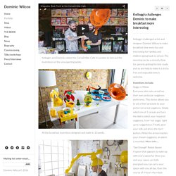 Dominic Wilcox portfolio page