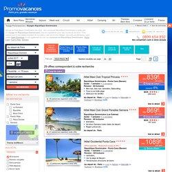 Voyage en République Dominicaine à partir de 809€. Séjours en République Dominicaine pas cher