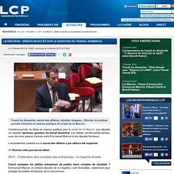 Loi Macron: débats musclés sur la question du travail dominical