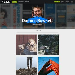DominicBowkett on PixTeller