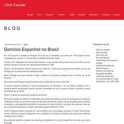 Domínio Espanhol no Brasil