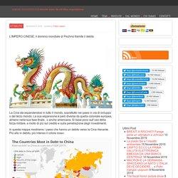 L'IMPERO CINESE: il dominio mondiale di Pechino tramite il debito