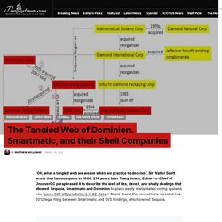 The Tangled Web of Dominion, Smartmatic, and their Shell Companies