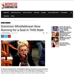 Dominion Whistleblower Now Running for a Seat in THIS State