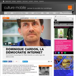 Dominique Cardon, la démocratie Internet - visions