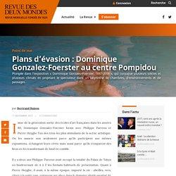 Plans d'évasion : Dominique Gonzalez-Foerster au centre Pompidou