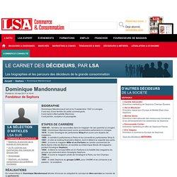 Dominique Mandonnaud : Tout savoir sur Dominique Mandonnaud, Fondateur de Sephora