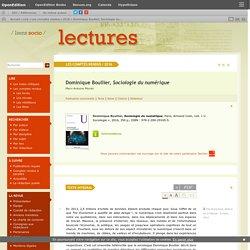 Dominique Boullier, Sociologie du numérique