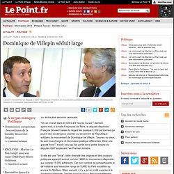 RÉPUBLIQUE SOLIDAIRE : Dominique de Villepin séduit large, actua