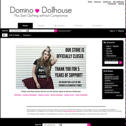 Domino Dollhouse - Plus Size Clothing