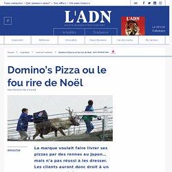 Domino's Pizza livraison par rennes au Japon