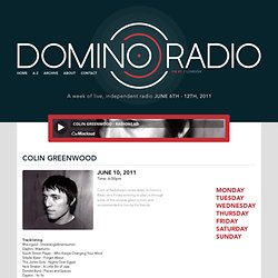 Domino Radio - A week of live, independent radio June 6th - 12th, 2011