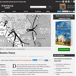 Domino Theory - The Vietnam War