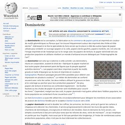 Dominoterie