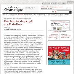 Une histoire du peuple des Etats-Unis, par Pierre Dommergues (Le Monde diplomatique, avril 1980)